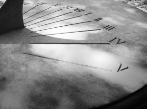 photograph of a sundial